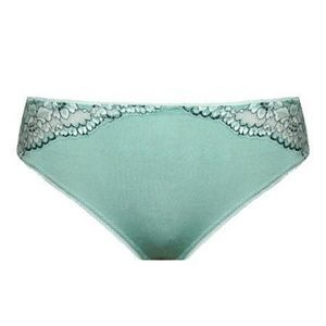 Other - Plus size Mint stretch Lace SatinThong